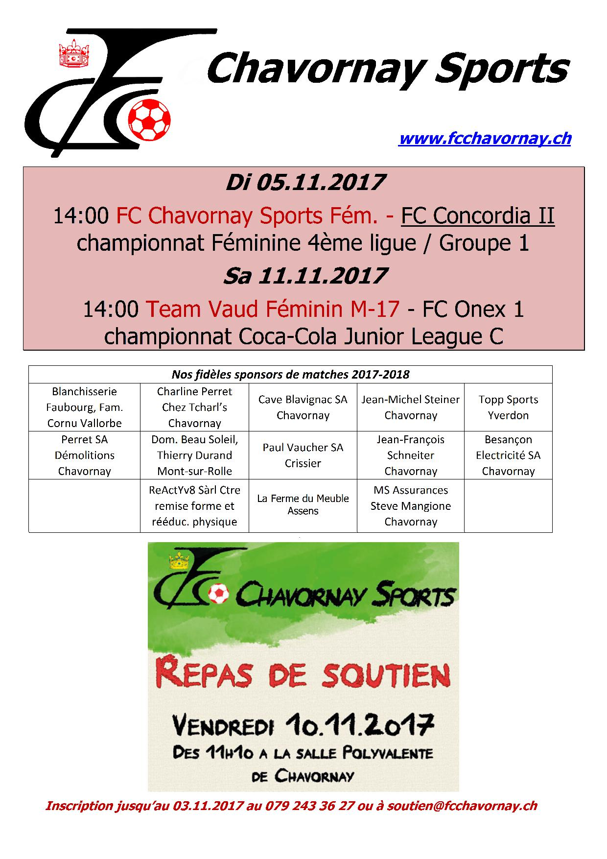 Rencontres 2016 chavornay
